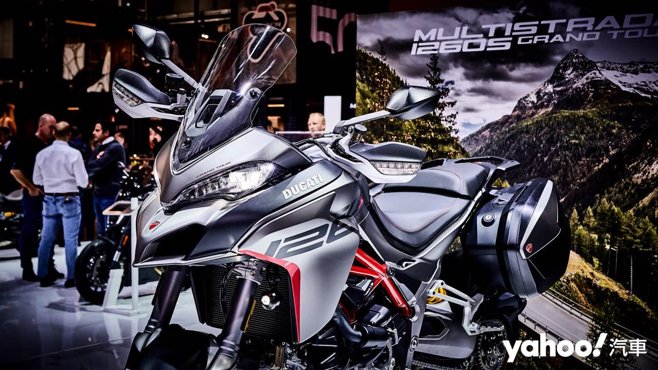 【新車圖輯】加入冒險陣容!2020 Ducati Multistrada 1260 S Grand Tour玩耍絕對很可以!