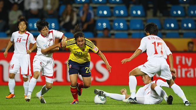 Korea DPR v Colombia: Group C - FIFA Women's World Cup 2011
