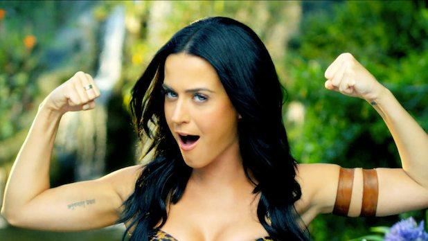 Katy Perry to 'Naked' Female Pop Stars: 'Put It Away'