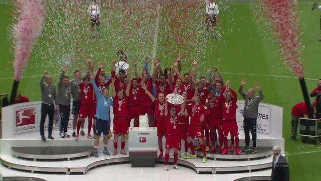 Bayern celebrate 25th title with Mainz win
