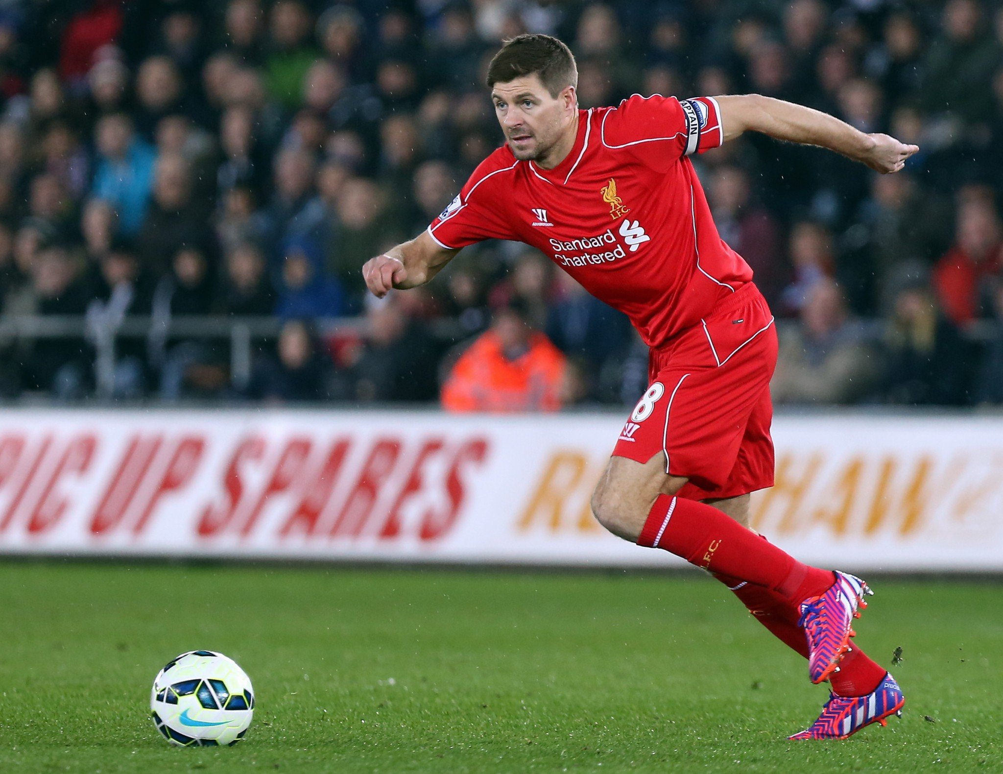 He's back - Steven Gerrard will play at Anfield next month