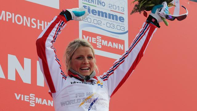 Cross-Country Skiing - Johaug takes dominant victory in 30km