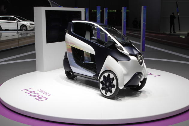 Toyota i-ROAD concept vehicle
