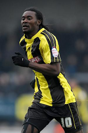 Calvin Zola was Burton's player of the year last term