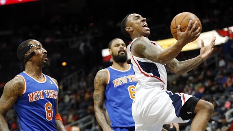 Scott scores career high 30 as Hawks beat Knicks