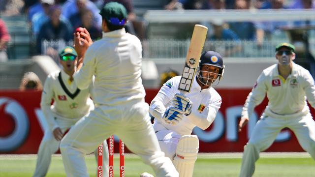Cricket - Australia on top despite Sangakkara milestone