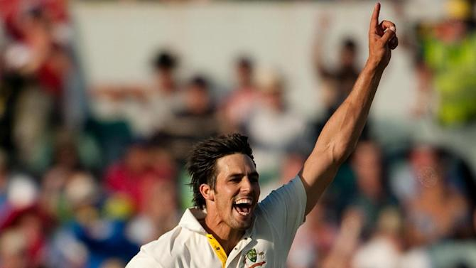 Australia have Mitchell Johnson as 12th man for the first Test against Sri Lanka
