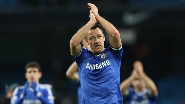 "Champions League - Mourinho hails ""deserving"" Terry"