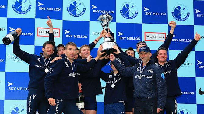 BNY Mellon Oxford v Cambridge University Boat Race 2014