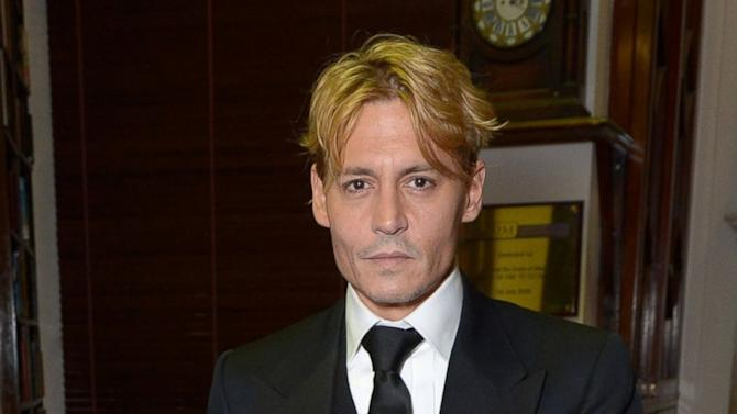 Johnny Depp Goes Blond