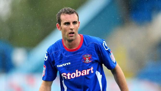 Danny Livesey is facing a spell on the sidelines
