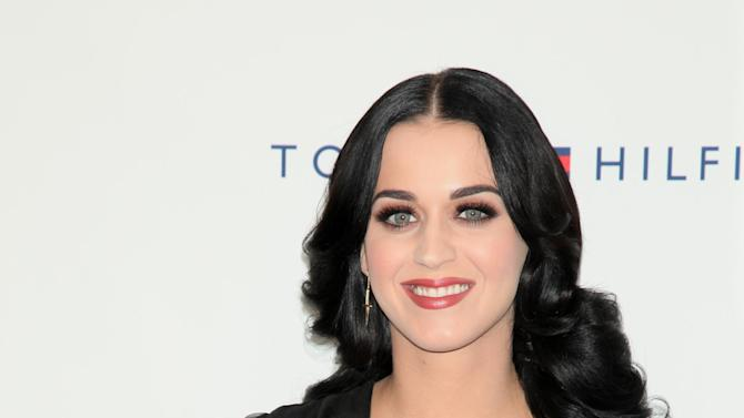 FILE - This Oct. 13, 2012 photo released by Starpix shows Katy Perry at Comedy Central's Night Of Too Many Stars: America Comes Together For Autism Programs at The Beacon Theatre in New York. Perry, Quincy Jones, Alicia Keys and Vince Gill will perform at an event to benefit the late Paul Newman's The Painted Turtle Camp. (AP Photo/Starpix, Andrew Toth, file)