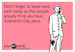 Holiday Messages for Business Series: Valentines Day image SomeEcards Valentine
