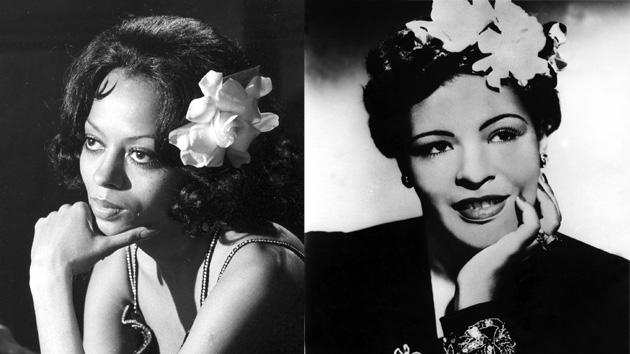 Diana Ross as Billie Holiday