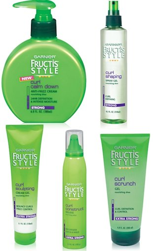 garnier fructis style curls collection