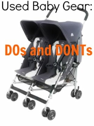Buying Used Baby Gear: 10 Dos and Don'ts