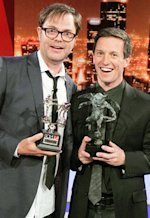 Rainn Wilson and Rove McManus  | Photo Credits: Craig T Mathew