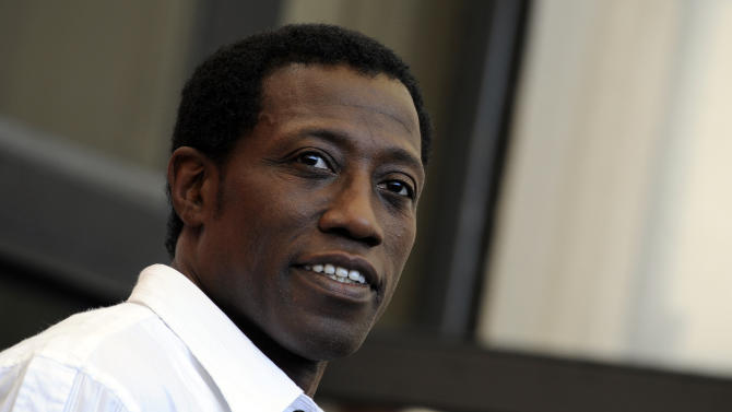 """Wesley Snipes is currently in theaters in """"The Expendables 3."""""""