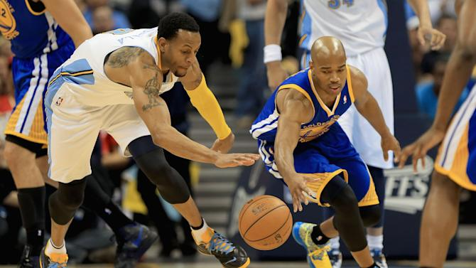 Golden State Warriors v Denver Nuggets - Game Five