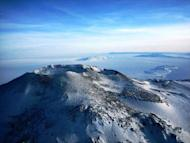Erebus from above.