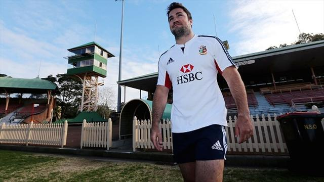 Lions Tour - Adrenalin fires up new boy Barritt