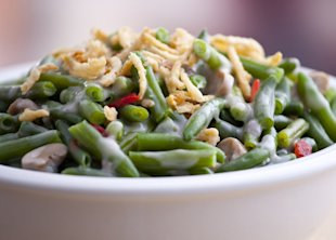 The Perfect Green Bean Casserole for Thanksgiving