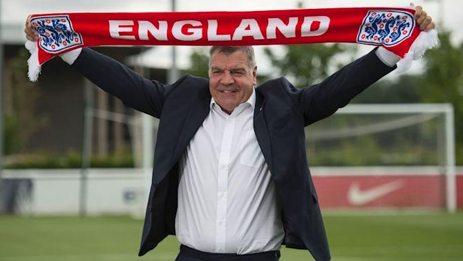 Big Sam Joined England