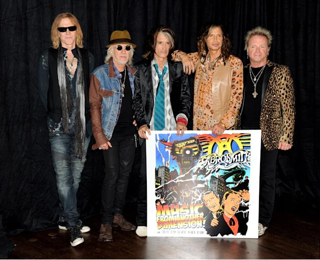Aerosmith Press Junket