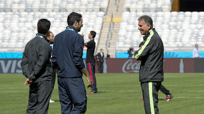 Iran coach Queiroz has stopped Messi before