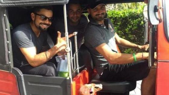 Here's how Virat Kohli and team chill after victory!