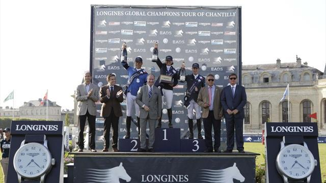 Equestrian - Madden claims victory in strong field at Chantilly