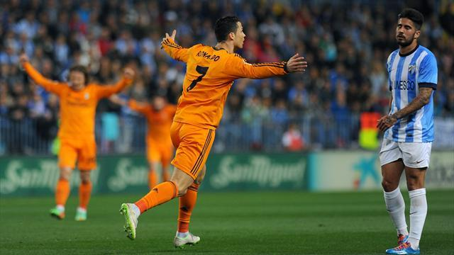 Liga - Real prepare for Clasico with win at Malaga
