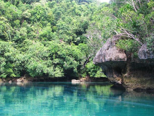 A snapshot of one of the tourist destinations in Siargao. (Photo from AmazingSiargao.com)