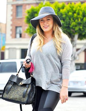 Hilary Duff Hits Gym 1.5 Weeks After Giving Birth