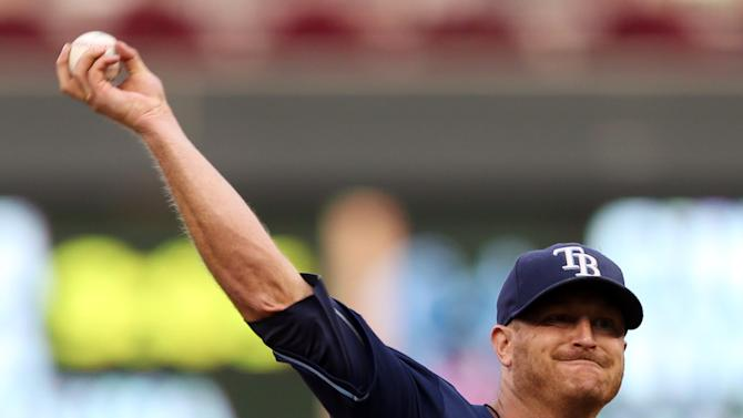 Zobrist and Longoria carry Rays over Twins, 6-2