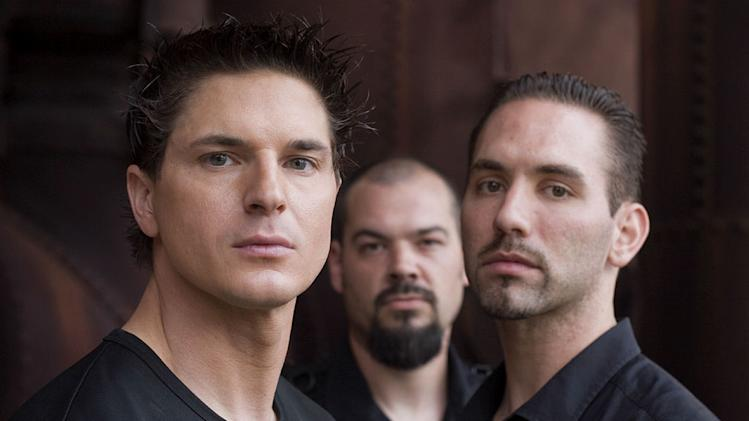 "Zak Bagans, Aaron Goodwin, and Nick Groff in ""Ghost Adventures."""