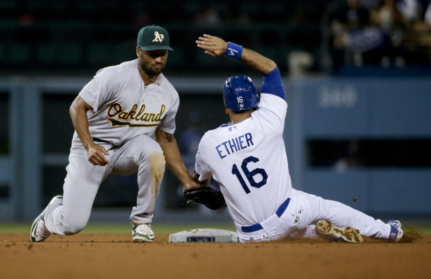 Sonny Gray throws 3-hitter, Oakland A's beat Dodgers 2-0