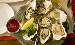 Research says we shouldn't be eating oysters in the warm summer months.