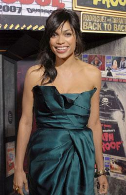Rosario Dawson at the Los Angeles premiere of Dimension Films' Grindhouse