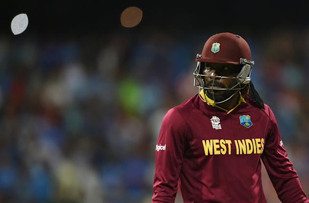 Chris Gayle, who has been plagued by back and hamstring problems in recent times, sits out the first of two back-to-back T20s to be played at the Lauderhill ground in Fort Lauderdale this weekend