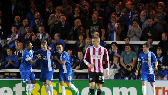 Soccer - Johnstone's Paint Trophy - Southern Area - Second Round - Peterborough United v Brentford - London Road