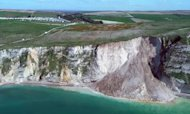 Dorset Landslide: Cliff Collapses Into Sea