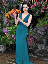 We lurve Dita! It's been a long love affair this one, right from the days when she was on the arm of Marilyn Manson (doesn't that seem like yonks ago?) to the recent images of her