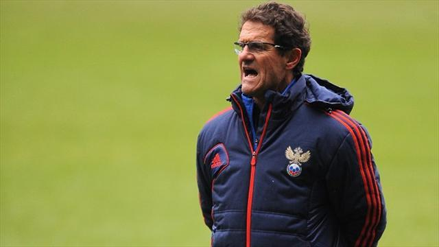 World Cup - Capello accidentally calls up wrong player for Russia