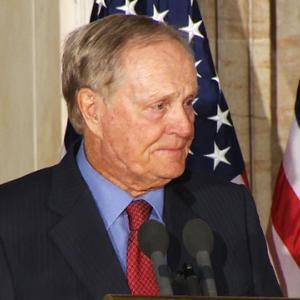 Golf legend Jack Nicklaus receives Congressional Gold Medal