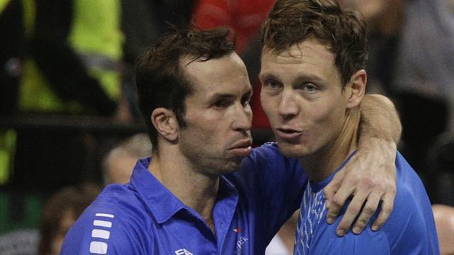 Davis Cup - Czech Republic lead after doubles rubber