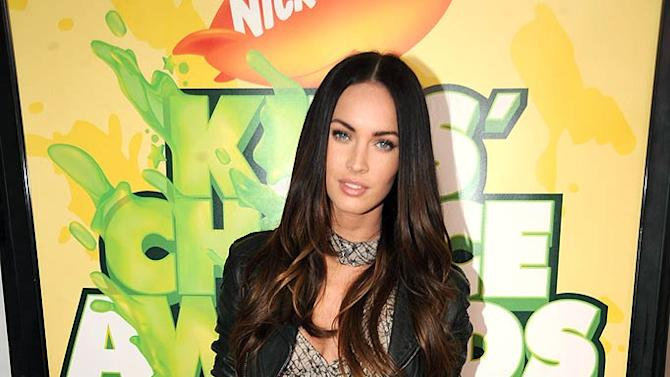 """Megan Fox arrives at """"Nickelodeon's 2009 Kids' Choice Awards"""" at UCLA's Pauley Pavilion on March 28, 2009 in Westwood, California."""