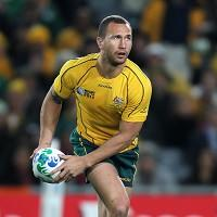 Quade Cooper is thought to be considering his future in rugby union