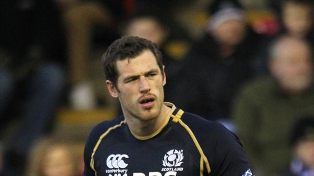 Rugby - Visser and Taylor worries for Scots