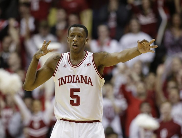 Ex-Indiana wing Troy Williams went from undrafted to making an NBA roster. (AP)